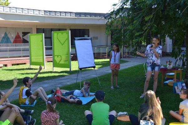 Dzieci czynnie uczestniczyły w warsztatach :)
