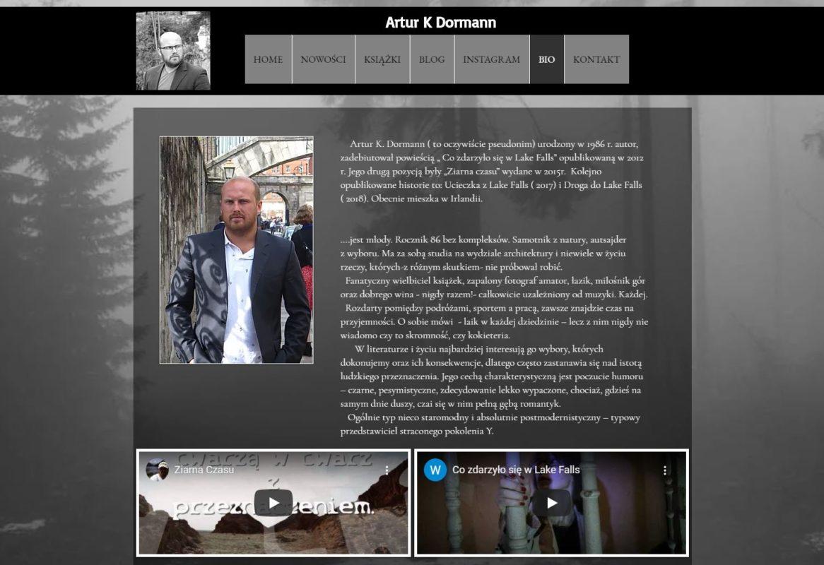 Strona autorska Artura K. Dormanna